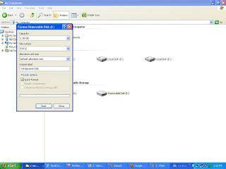 format flashdisk standar cara format flashdisk dengan aman www data iptek