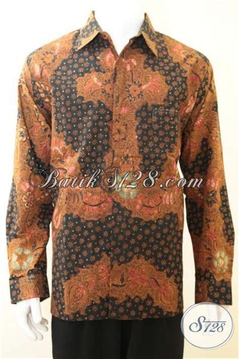 Baju Batik Pria Slimfit Bahan Katun baju batik bagus pria kemeja batik tulis motif unik bahan halus daleman furing katun adem