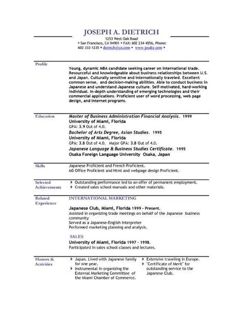Free Usable Resume Templates by Best 25 Officer Resume Ideas On
