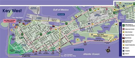 key west florida map image gallery key west map