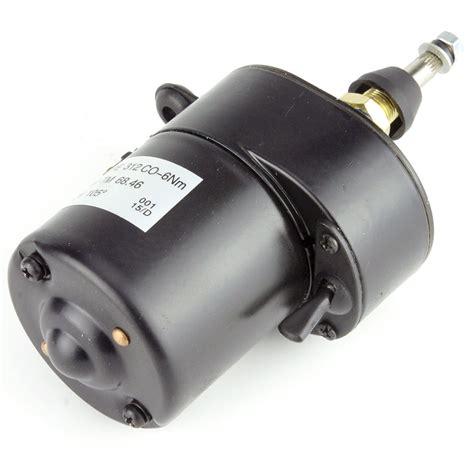 wiper motors compact wiper motor 105 degrees black car builder