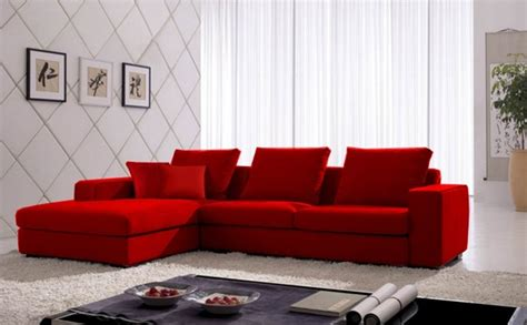 red sofa sectional sectional sofas red 665 00 vogue microfiber sectional sofa