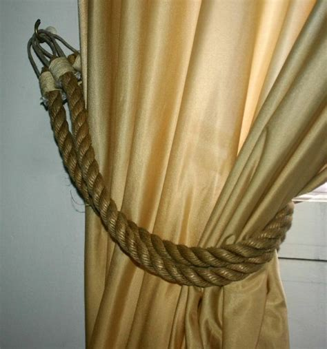 nautical tie backs for curtains 51 best images about rope on pinterest ties curtain tie