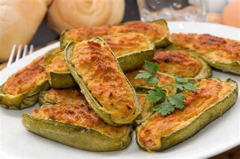 cucinare le zucchine ripiene zucchine ripiene di carne l idea per preparare e