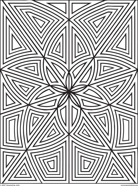 coloring pages of design printables designs to print and color geometrip com free