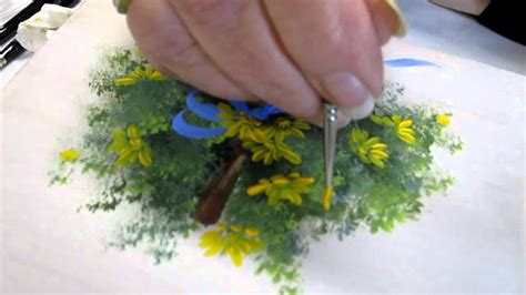 free painting for 2 floral techniques free lesson of decorative painting by