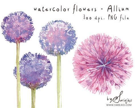 Popular Watercolor Flowers With Watercolor Paintings By