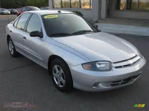2003 chevrolet cavalier ls sedan in ultra silver metallic