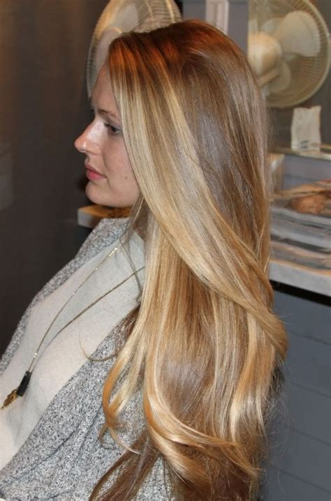 Natural long blonde hair hair pinterest