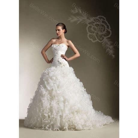 Robe De Mariée Corset Strass - robe de mari 233 e longue traine bustier