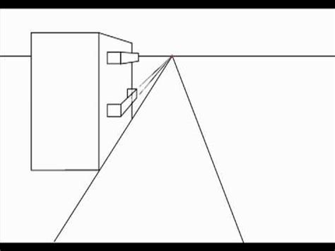 2 Drawings In 1 by Drawing Balconies In One Point Perspective