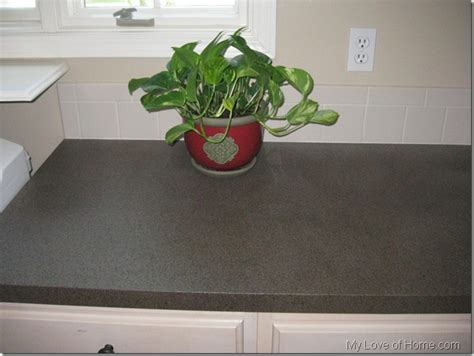 Spray Paint Kitchen Countertops by Diy Saturday Paint Your Tired Laminate Counters A