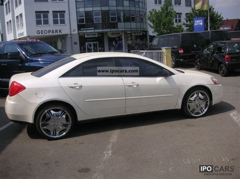 2007 pontiac g6 v6 2007 pontiac g6 v6 german approval car photo and specs