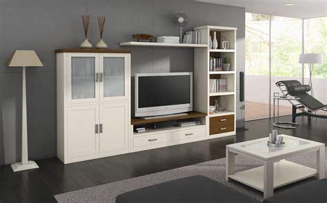 muebles de salon mobiliario para sal 243 n en madera maciza