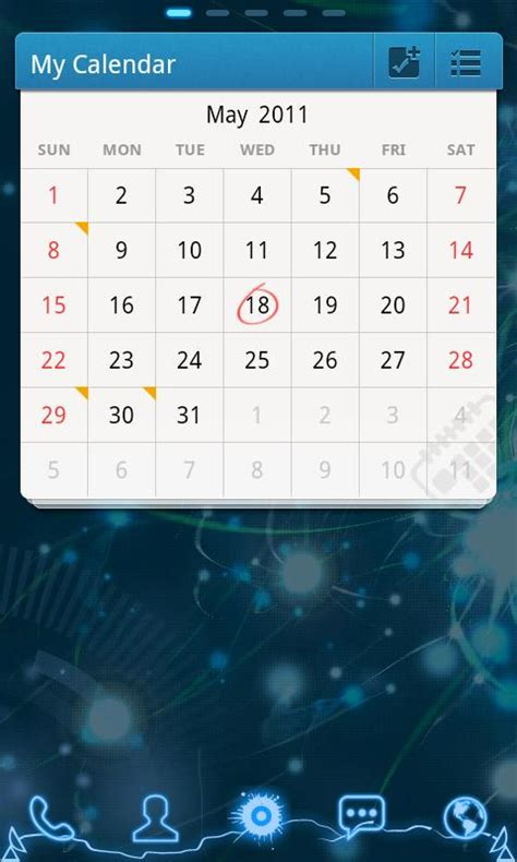 Go Calendars Top 5 Android Calendar Widgets Android Widgets