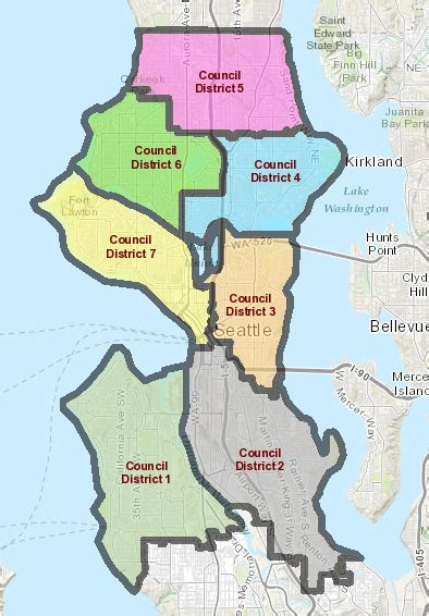 seattle zip code map find your council district cityclerk seattle gov
