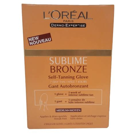 L Oreal Dermo Expertise buy l oreal dermo expertise sublime bronze self
