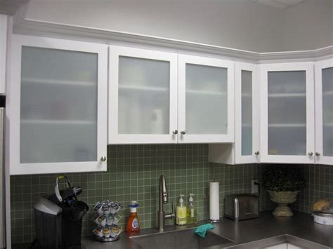 Diy Reface Kitchen Cabinets by White Kitchen Cabinets With Frosted Glass Doors Shayla S