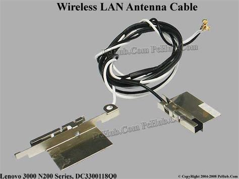 lenovo 3000 n200 series wireless antenna cable dc3300118q0