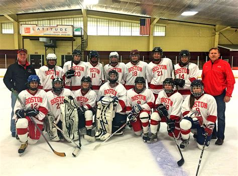 junior league of boston and belmont woman s club partner unofficial bu women s ice hockey team finds competition
