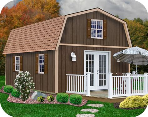 Building Small Barns Sheds Shelters Best Barns Richmond 16x20 Wood Storage Shed Kit
