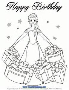 frozen coloring pages birthday 24 best disney frozen birthday coloring pages images on