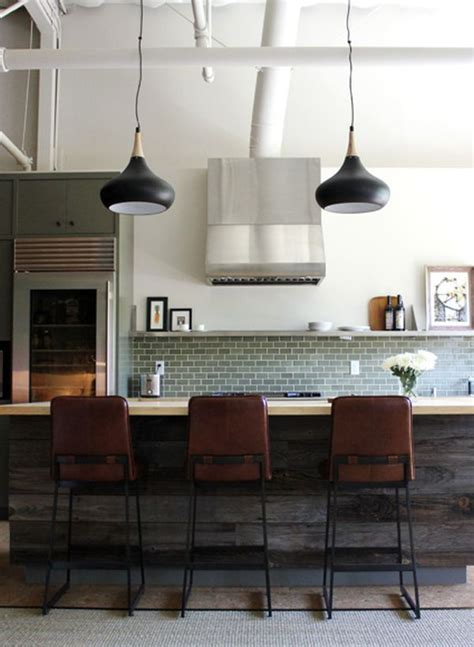 Industrial Style Kitchen Lights Kitchen Subway Tiles Are Back In Style 50 Inspiring Designs