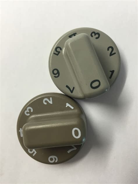 electrolux dometic thermostat knob 2 colours uk