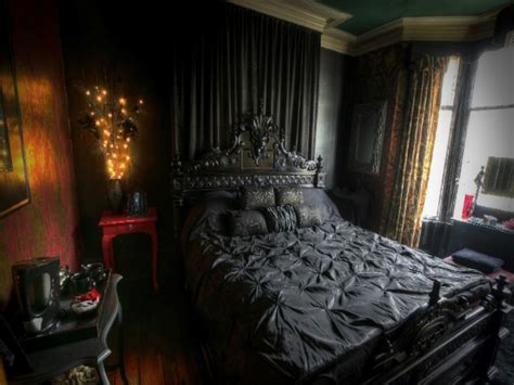 goth bedroom dark bedrooms victorian gothic interior design bedroom