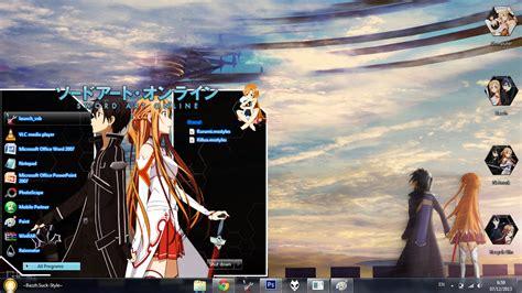 download theme untuk windows 7 anime themes swort art online untuk windows 7 anime j2 free