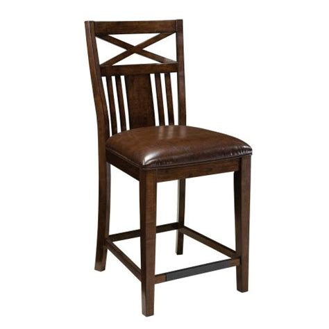 standard furniture sonoma counter height stool in oak top 10 best bar stool sets in 2018 reviews