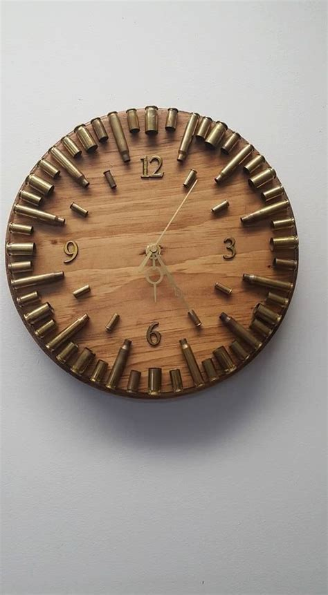 early american bullet casing clock ammo clock ammo home