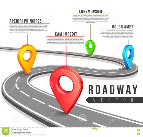 100  [ Creative Road Map Infographics Powerpoint