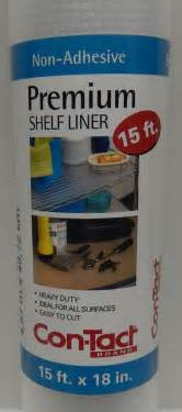 Contact Non Adhesive Shelf Liner by 4 Rolls Contact Premium Shelf Liner Non Adhesive Heavy