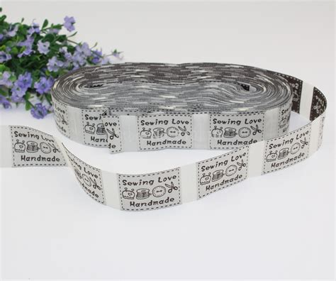 Sewing Labels Handmade By - aliexpress buy free shipping wholesale sewing
