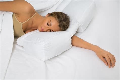Pillow For Arm Sleepers by Better Sleep Pillow Gel Fiber Fill Pillow Sleeping W