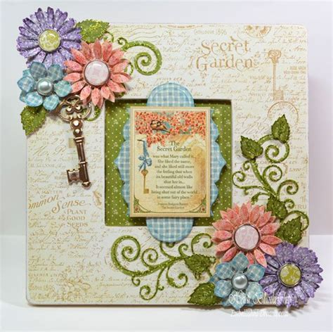 Secret Garden Gold Frame 19 best images about spellbinders flowers and flourishes on pretty cards