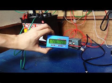 wire  solar watt meter youtube