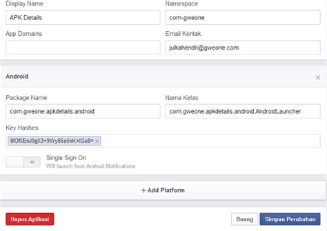 membuat aplikasi facebook android membuat aplikasi facebook untuk platfrom android blog gweone