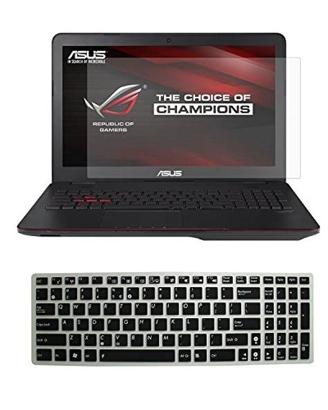 Asus Rog Laptop Keyboard Protector Cover Pelindung 15 17 Inch casebuy 174 15 6 quot high definition anti scratch screen protector guard cover skin for asus rog