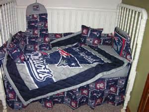 new crib nursery set m w new patriots