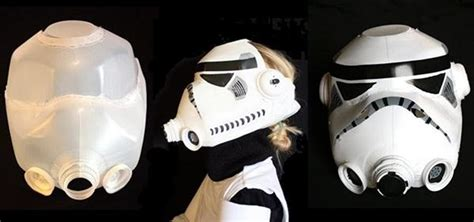 How To Make A Stormtrooper Helmet Out Of Paper - diy stormtrooper helmet plus 10 more ways to reuse