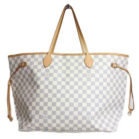 Tas Tote Fashion Wanita Branded Lois Vuitton Lv Neverfull Monogram louis vuitton damier never gm bag designer handbags louis vuitton bags and