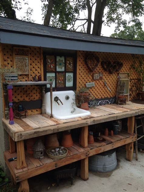 shed benches best 25 potting benches ideas on pinterest potting