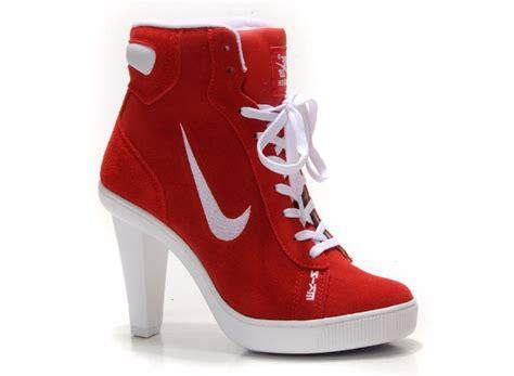 nike shoes high heels nike heels womens dunk high heels white 9651332