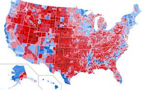 us voting map by county the 2016 election by county abagond
