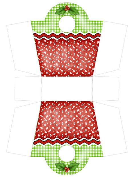 printable christmas boxes christmas gift box purse free pdf printable scrap y mas