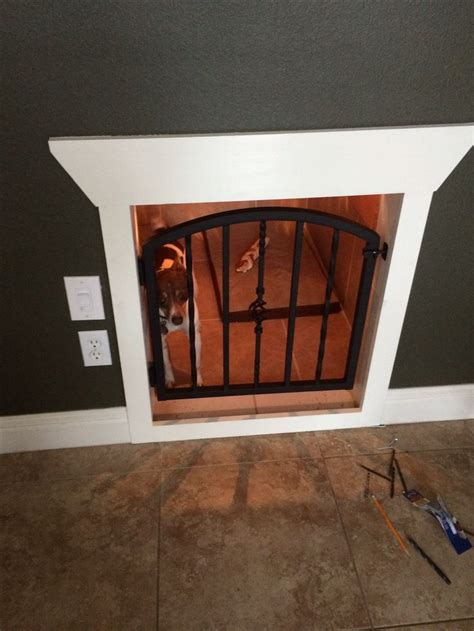 staircase dog house dog house under stairs jax pinterest
