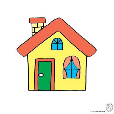 disegno camino disegno di casa con camino a colori per bambini