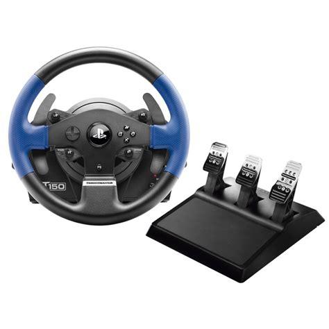 volante ps4 volante t150rs pro ps4 ps3 pc jc distribuciones
